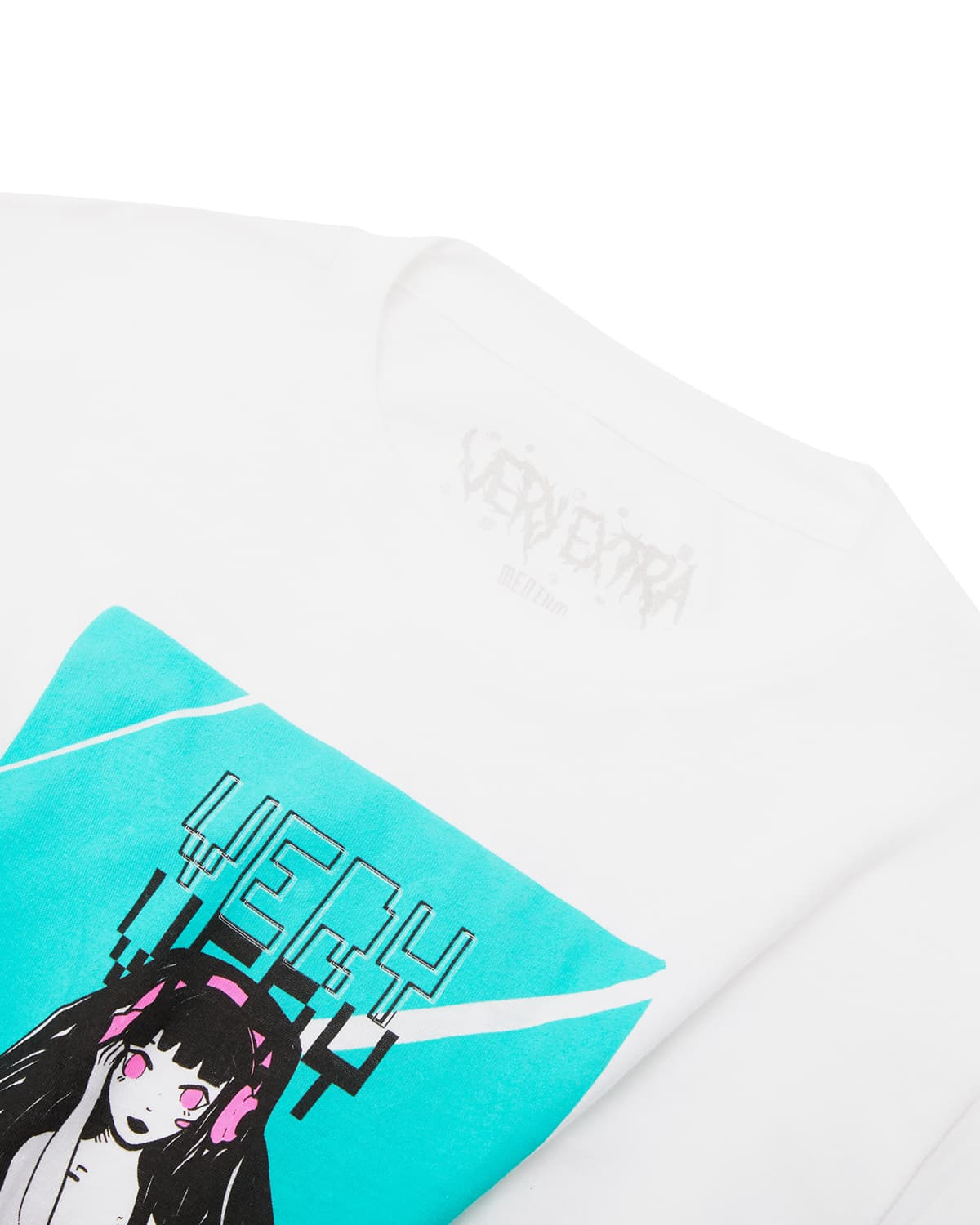 'Boxy' T-Shirt - White