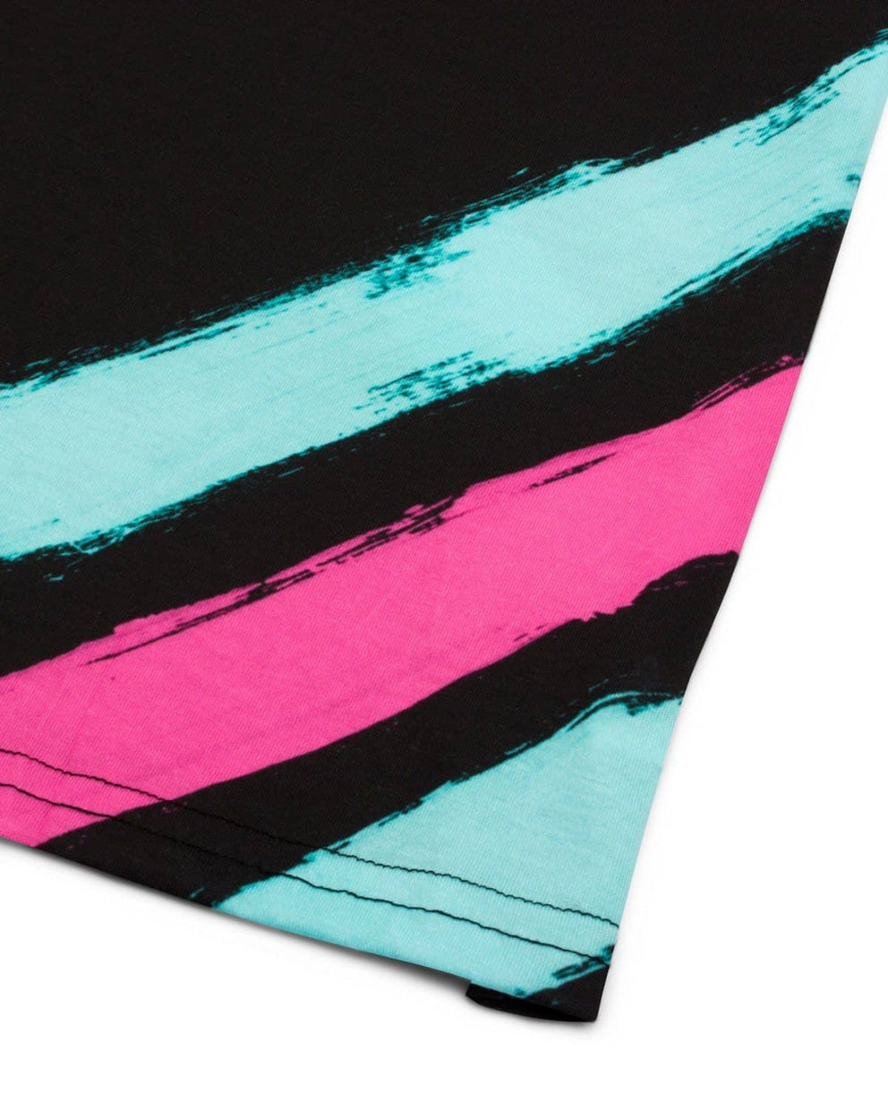 'Brushstroke' Unisex T-Shirt - Black