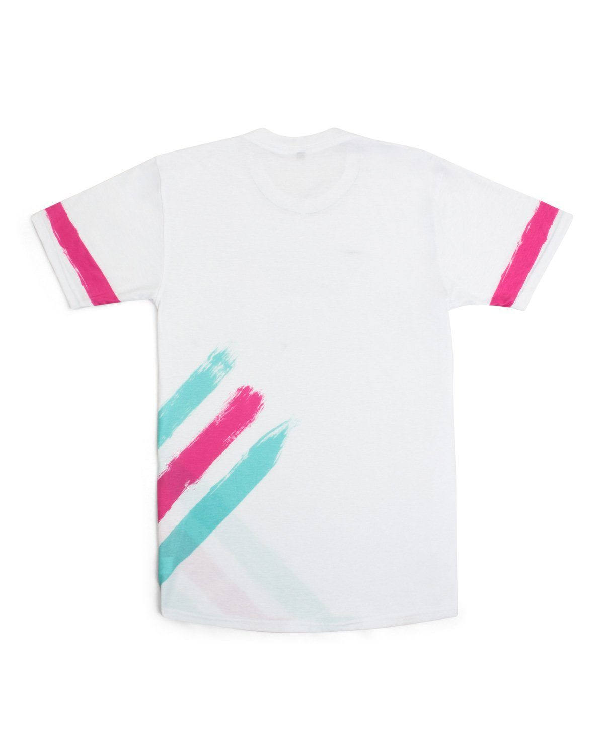 'Brushstroke' Unisex T-Shirt - White