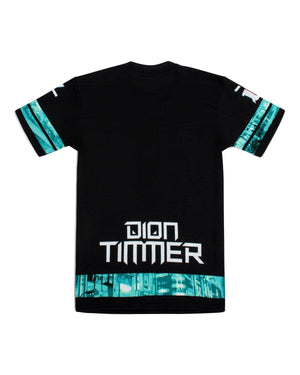 'Downtown Dion' Unisex T-Shirt - Blue