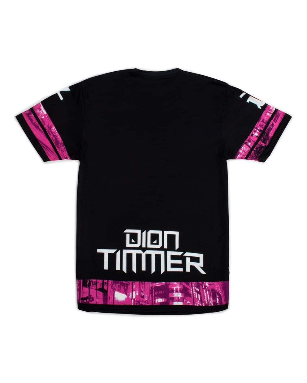 'Downtown Dion' Unisex T-Shirt - Pink