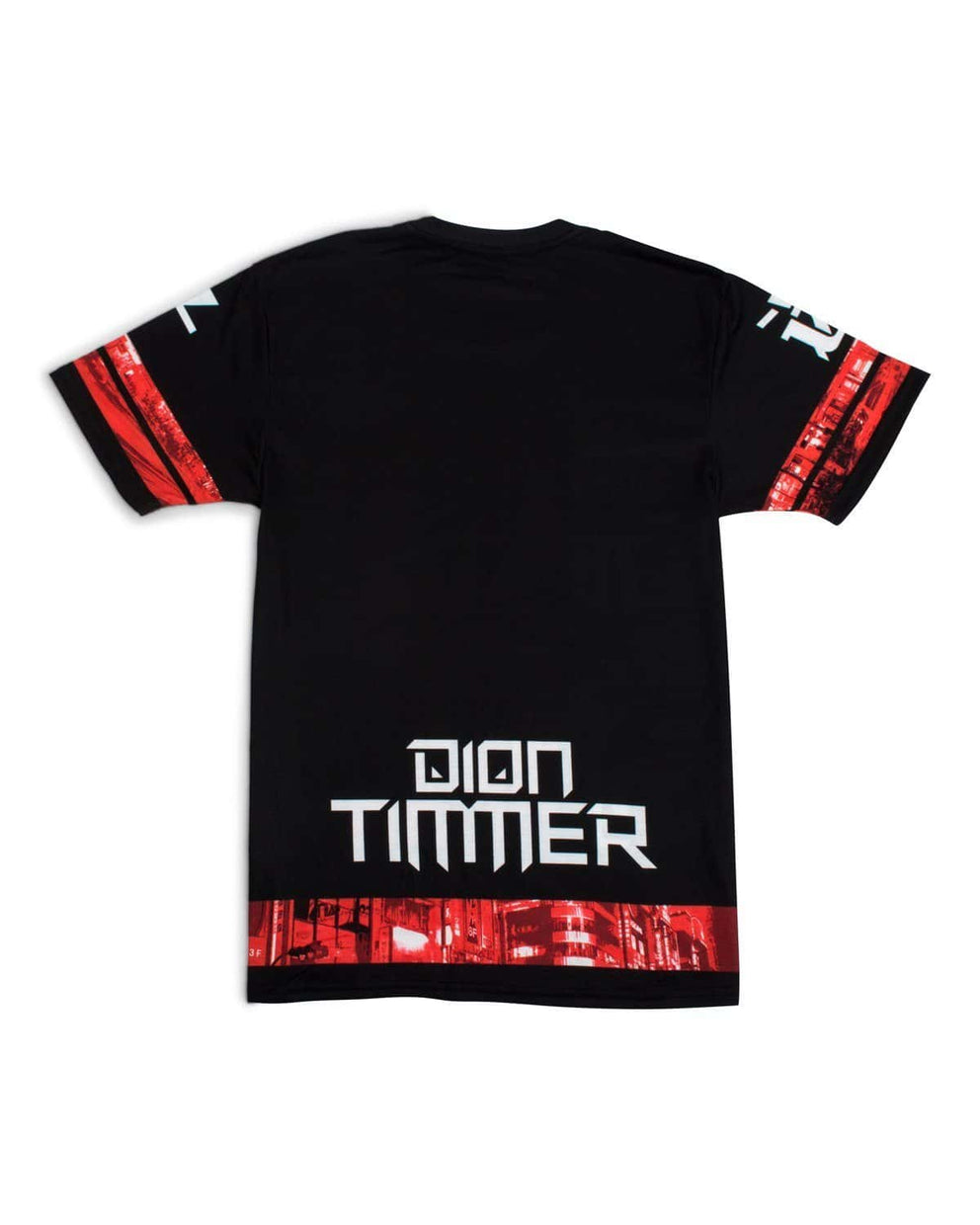 'Downtown Dion' Unisex T-Shirt - Red