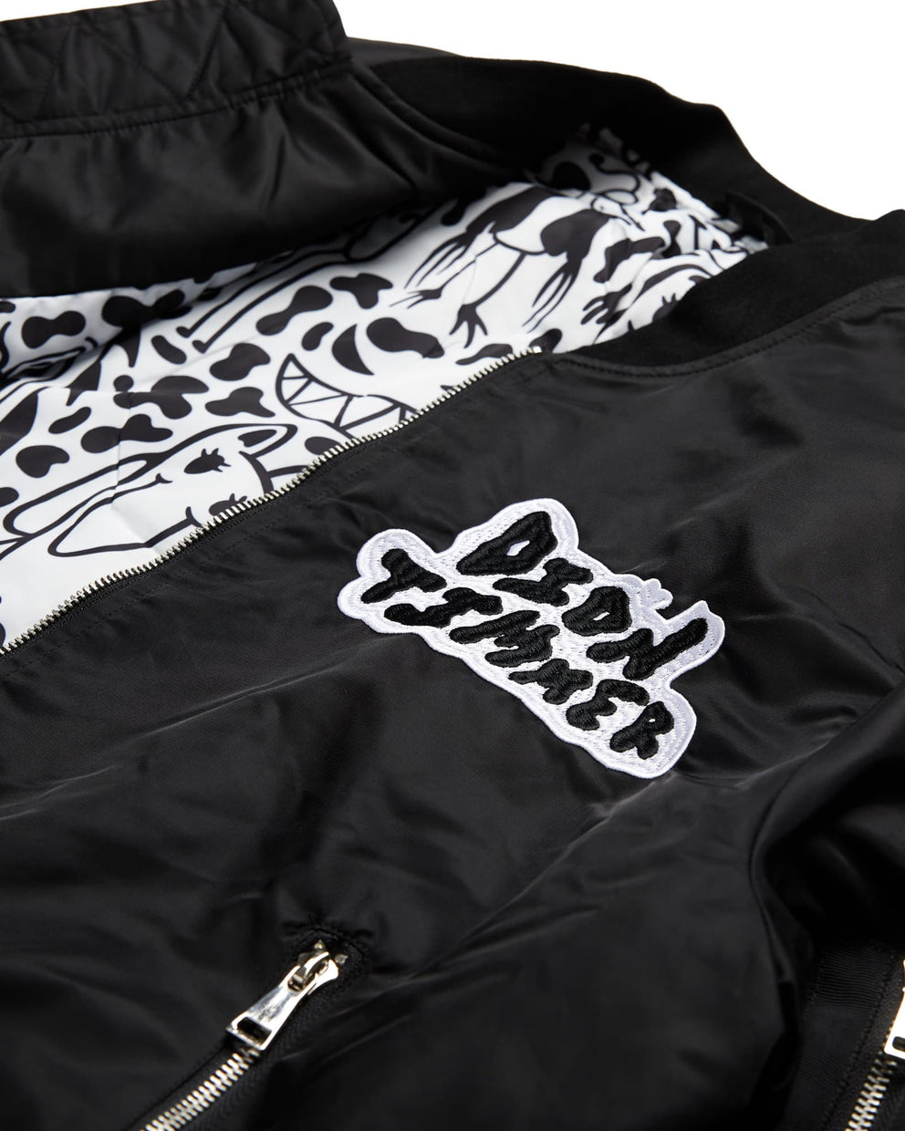 'Squiggles' Bomber Jacket