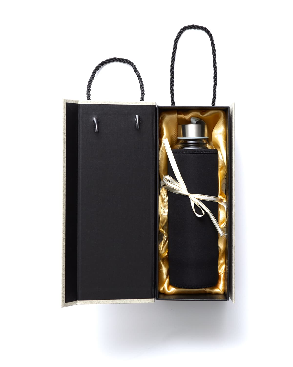 'Very Extra' Golden Obsidian Water Bottle - 16oz