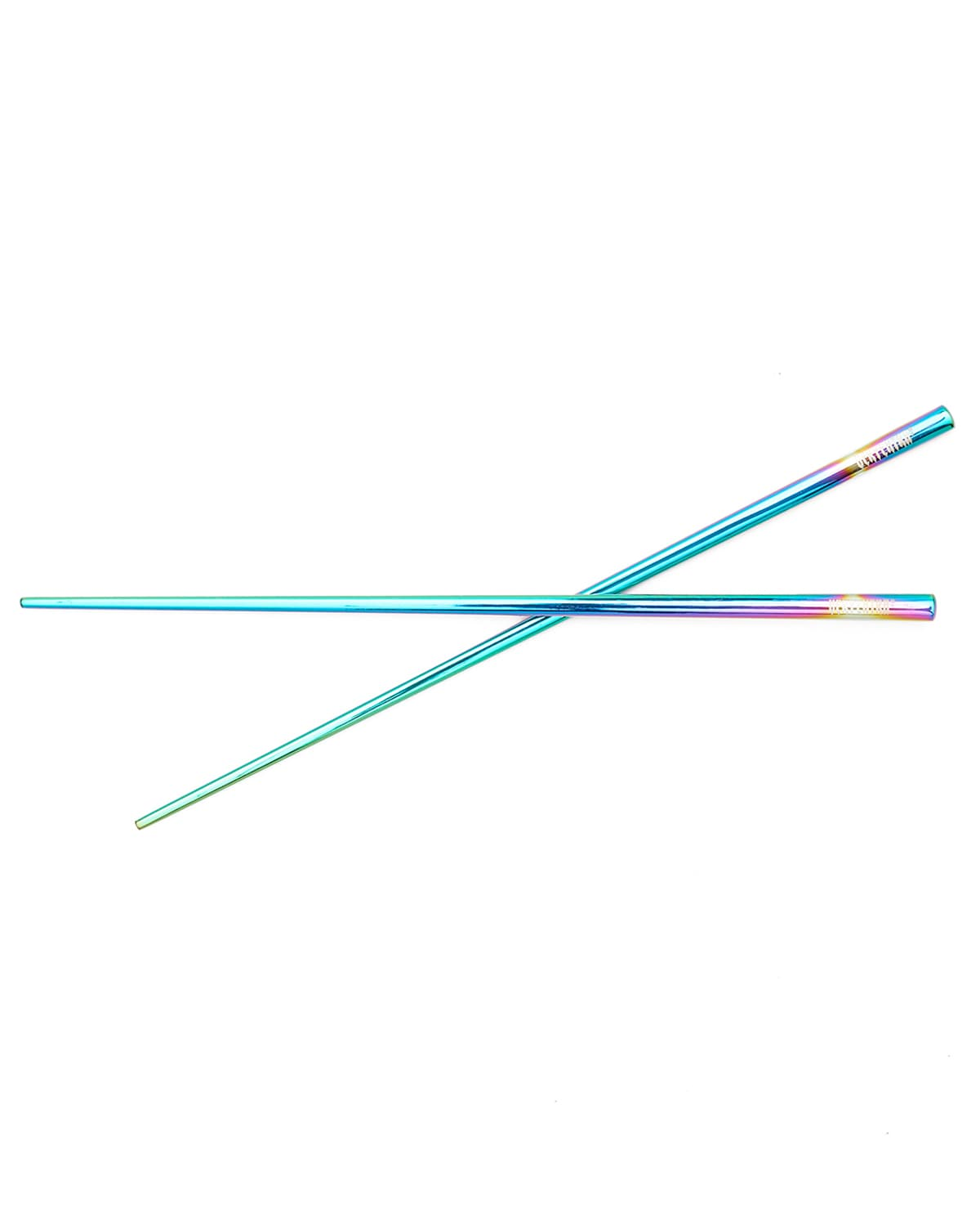 'Very Extra' Iridescent Stainless Steel Chopsticks