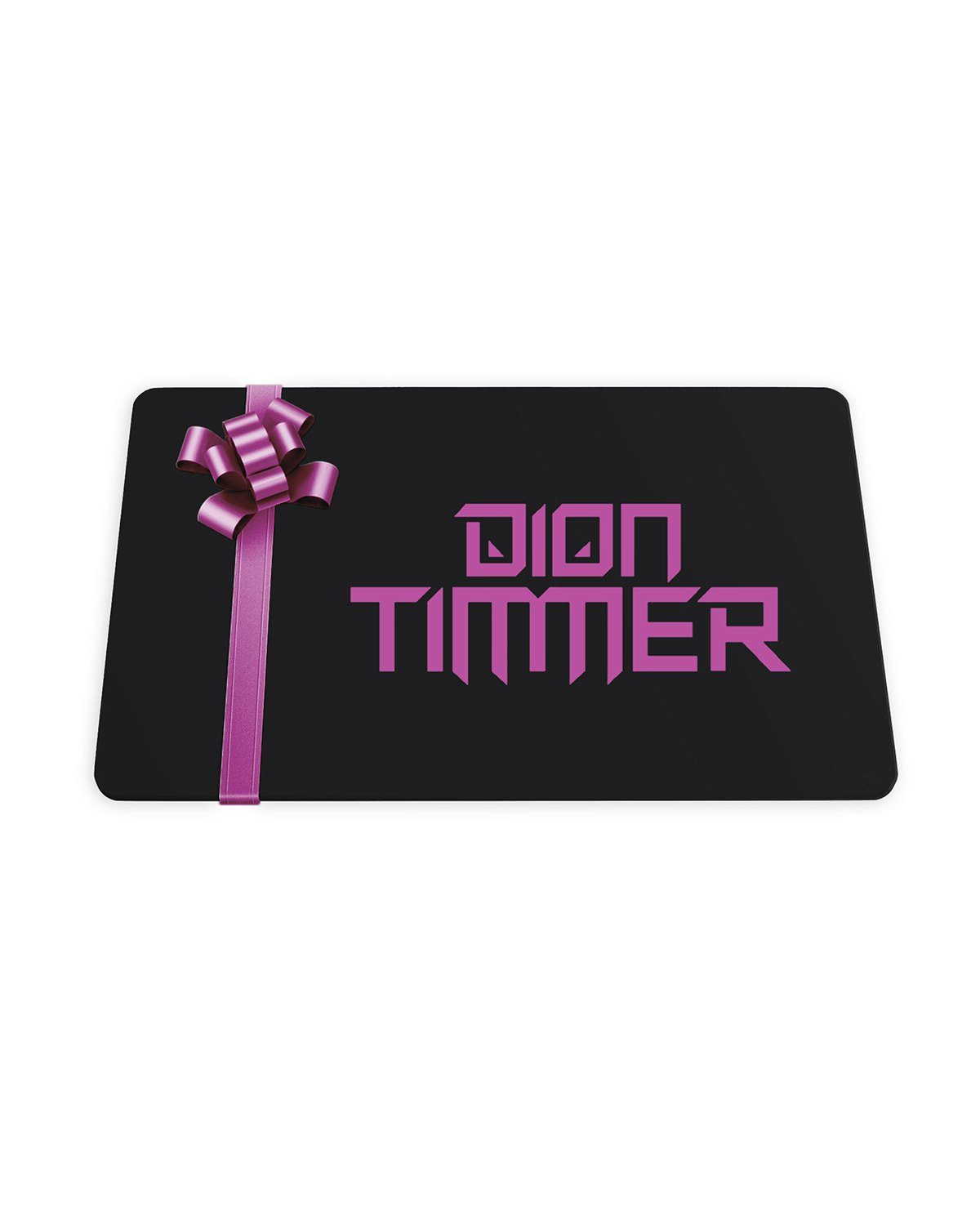 Dion Timmer Gift Card