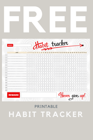 HABIT TRACKER | FREE PRINTABLE
