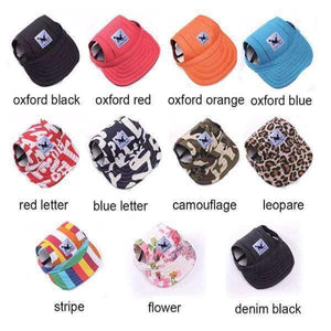 Cute Sun Hat - Casual Cotton Baseball Cap For Small Dogs - RhinocerosX