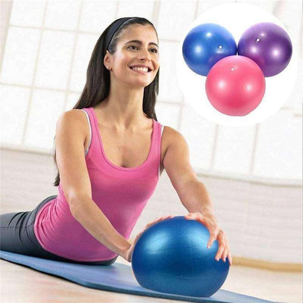 25cm Exercise Ball Workouts At Home With Pump Balance-Health & Fitness-RhinocerosX