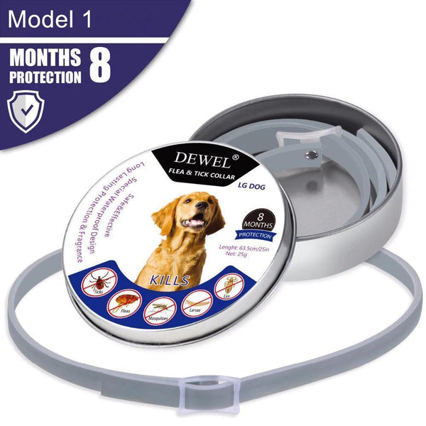 Adjustable Flea and Tick Collar for Dogs & Cats - RhinocerosX