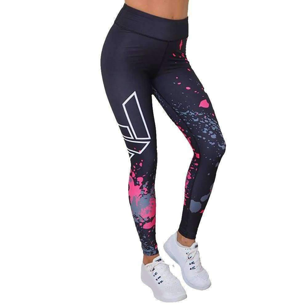 Athletic Women's High Rise Workout Pants!-RhinocerosX