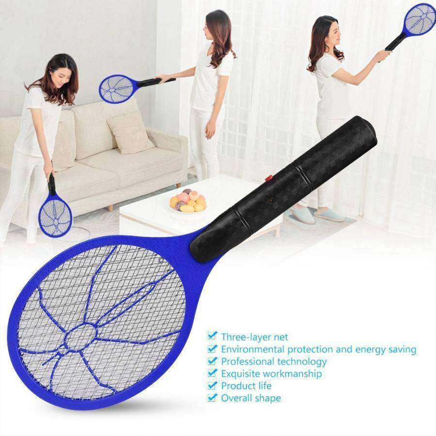 Battery Powered High Voltage Bug Zapping Fly Swatter - RhinocerosX
