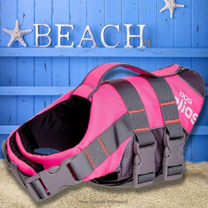 Adjustable Dog Life Jacket & Reflective Safety Vest