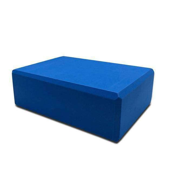 EVA Thick Yoga Blocks For Exercise, Stretching & Sports Fitness - RhinocerosX