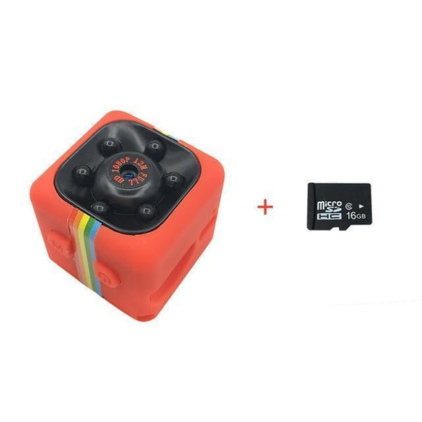 Full HD 1080P Resolution Portable Mini Night Vision Camera!.
