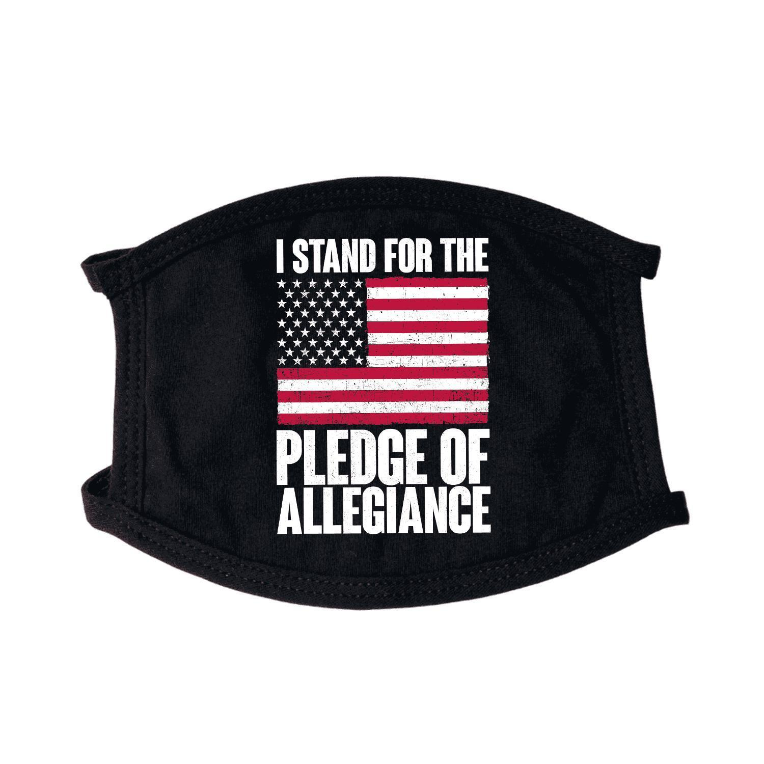 I Stand For Pledge of Allegiance Non-Medical Face Mask