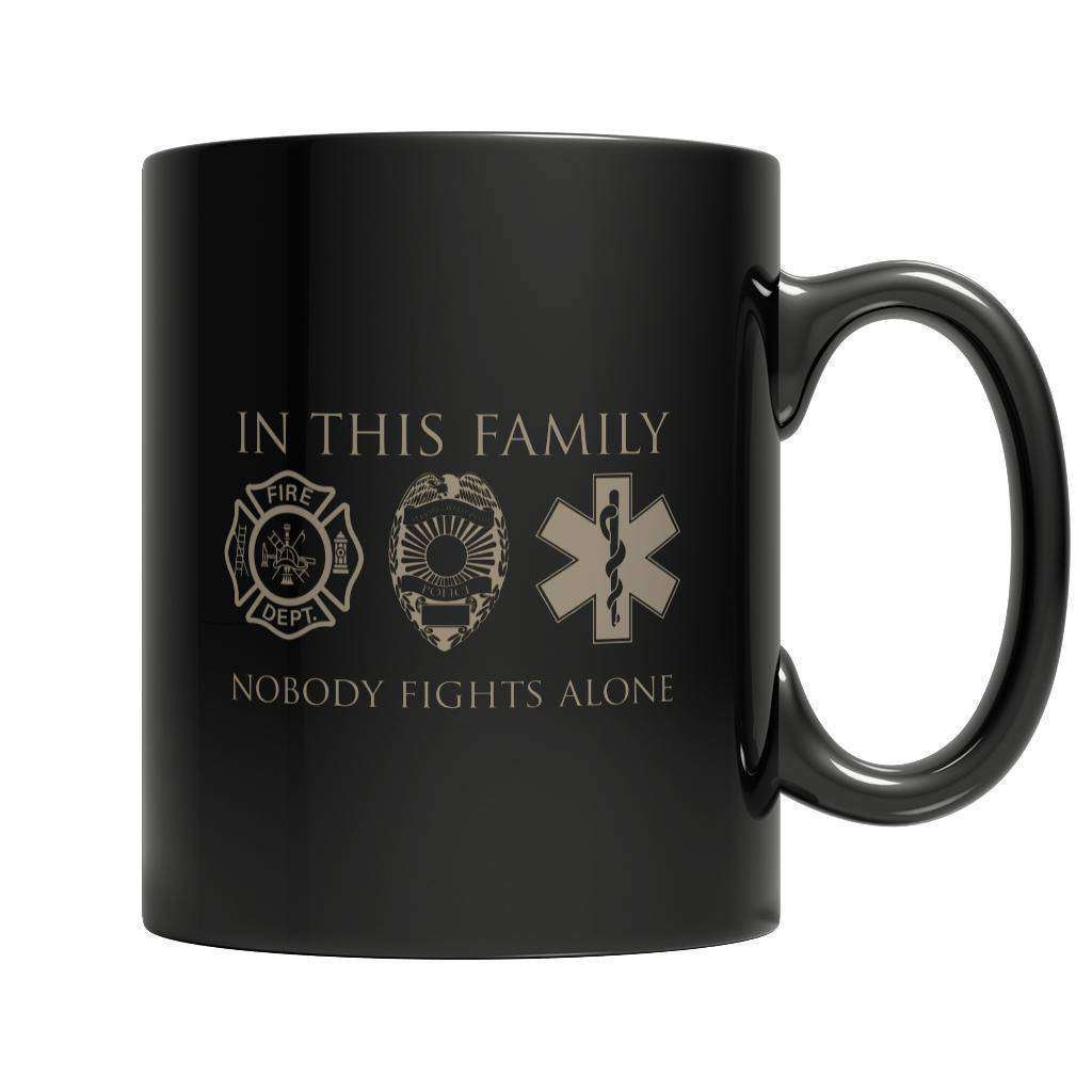 Limited Edition - In This Family Nobody Fights Alone - RhinocerosX