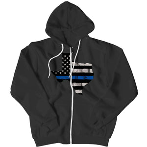 Limited Edition - Texas Police Flag - RhinocerosX