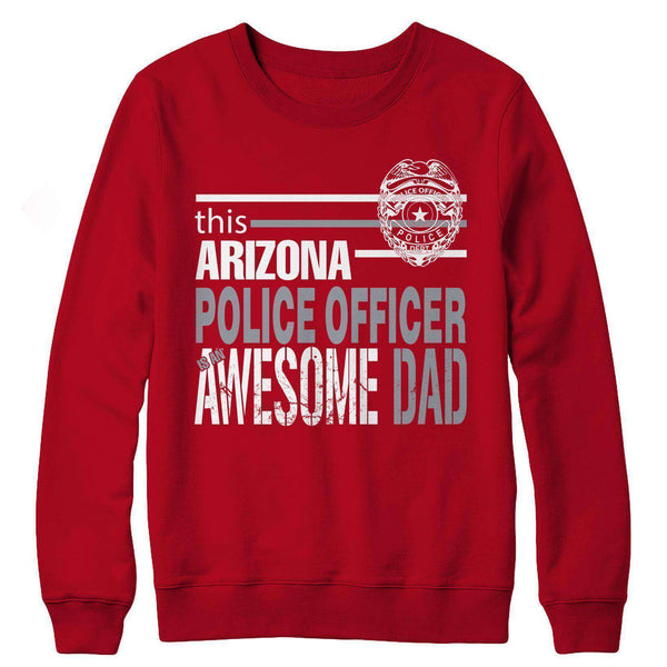 Police Officer Dad Gifts -This Arizona Police Officer is An Awesome Dad - RhinocerosX