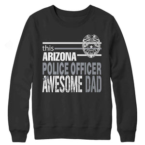 Police Officer Dad Gifts -This Arizona Police Officer's An Awesome Dad - RhinocerosX