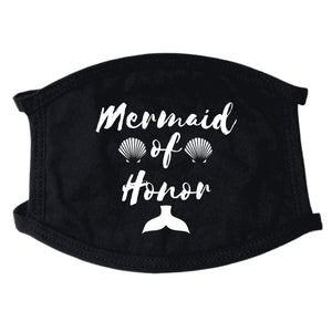 Mermaid Of Honor Non-Medical Face Mask