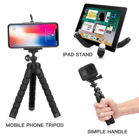 Mini Flexible Octopus Tripod for Your Smartphone, iPhone or Go-Pro