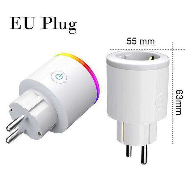 Roadtrip Wireless Smart Plug Outlet - Vacation Plus Piece of Mind  - RhinocerosX