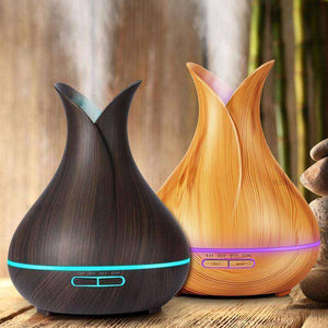 Ultrasonic Air Humidifier Mist Fogger & Electric Aroma LED Light-RhinocerosX