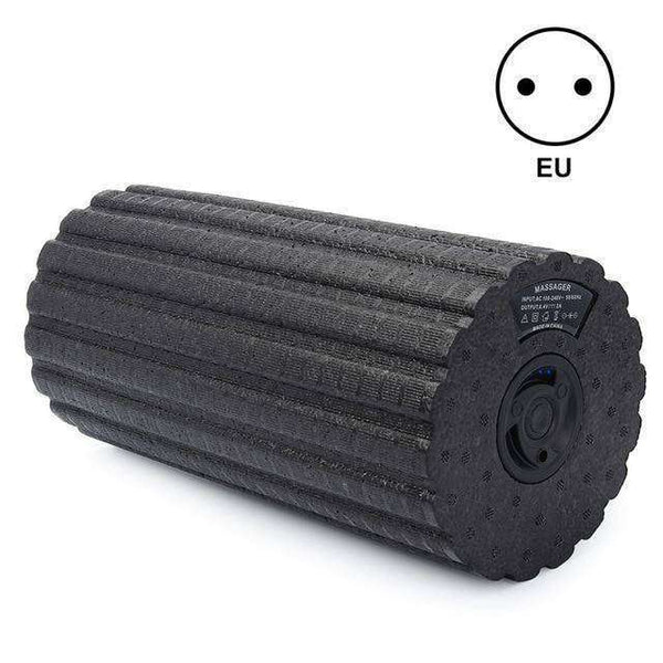 Vibrating Massaging Foam Roller, Relieves Muscle Pain & Stiffness!-Health & Fitness-RhinocerosX