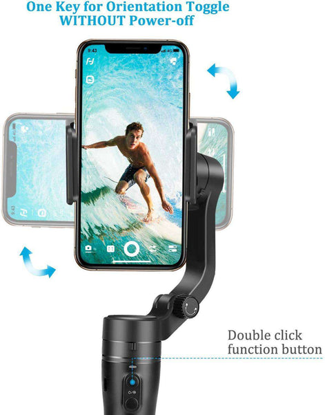 Vlog Pocket  - 3 Axis Foldable Smartphone Gimbal Stabilizer