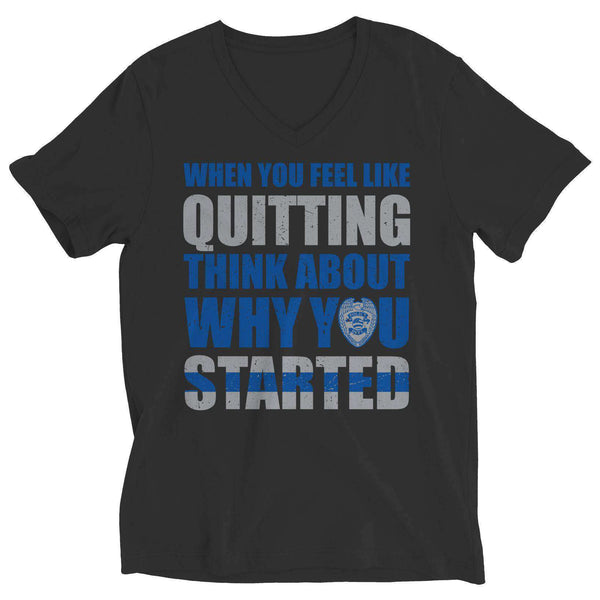 When You Feel Like Quitting, RememRemember The Thin Blue Line Meaning - RhinocerosX