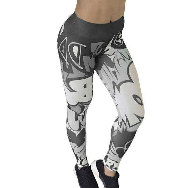 Women's High Waist Athletic Sports Fitness Yoga Pants-RhinocerosX