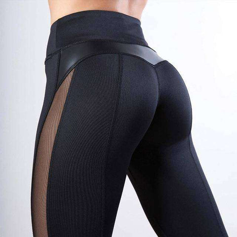 High Waste Heart Shaped Bottom Leggings