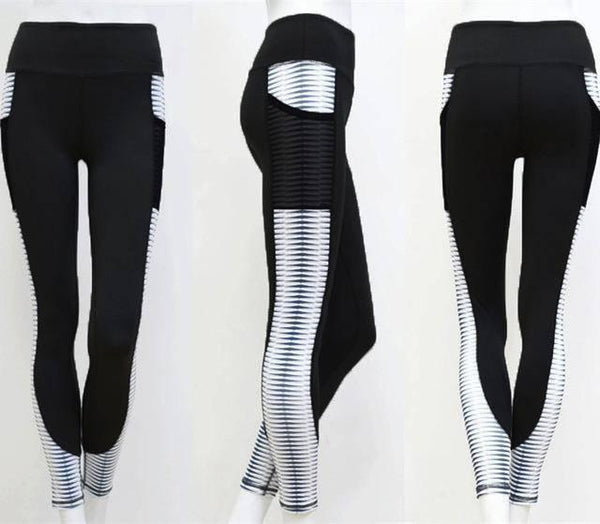 Women's High Waist Sport Fitness Yoga Leggings!-RhinocerosX
