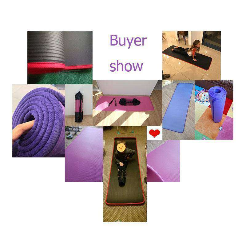 Yoga Mats Fitness Gymnastics Mats-Health & Fitness-RhinocerosX