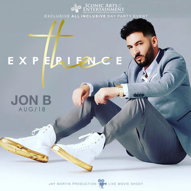 THE EXPERIENCE ALL INCLUSIVE EVENT + FILM FEATURING JON B.