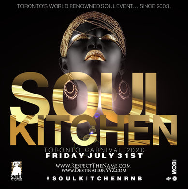 CARNIVAL FRIDAY NIGHT | SOUL KITCHEN CARNIVAL 2020 | Mod Club Theatre - 722 College St