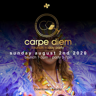 CARNIVAL SUN | DAY AUGUST 2ND 2020 | CARPE DIEM - BRUNCH + DAY PARTY
