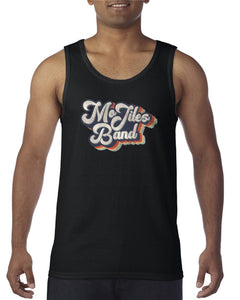 Black Throwback Tank Top
