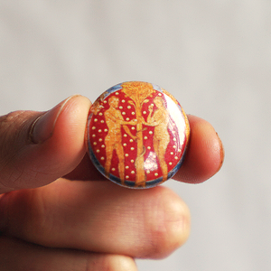 The Tree Of Life Button - Chthaeus Press