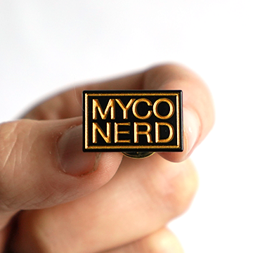 Myco Nerd Enamel Pin - Chthaeus Press