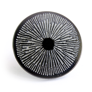Spore Print Enamel Pin - Chthaeus Press