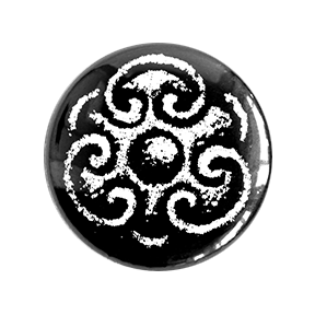 Xochipilli Button - Chthaeus Press