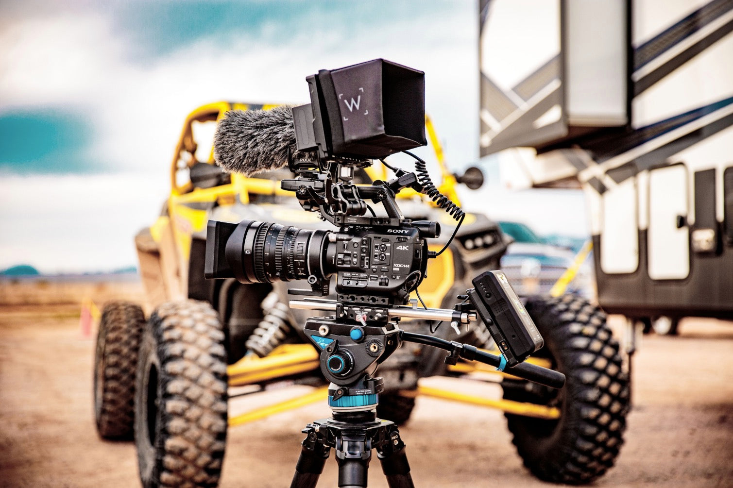Wooden Camera and UTV Wolfpack Go Off-Roading!