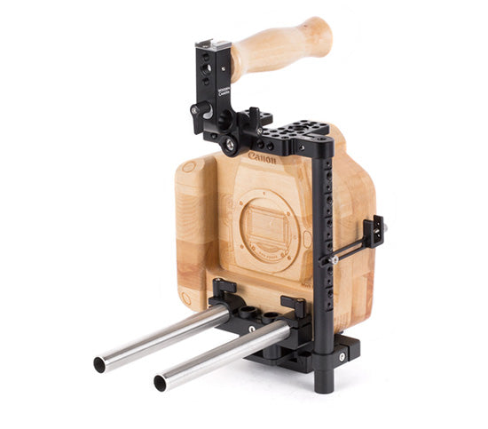 basic canon 1dx & canon 1dc dslr camera support package & accessories from wooden camera