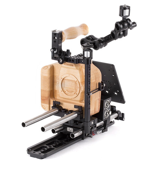 professional canon 1dx & canon 1dc dslr camera support kit & accessories from wooden camera