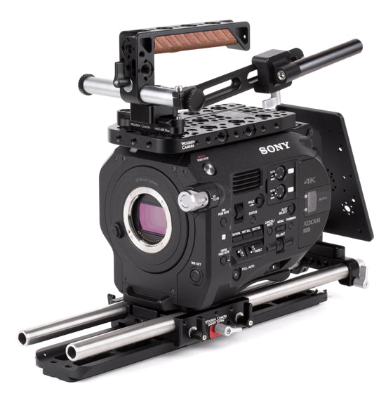professional sony fs7 camera support kit & accessories from wooden camera