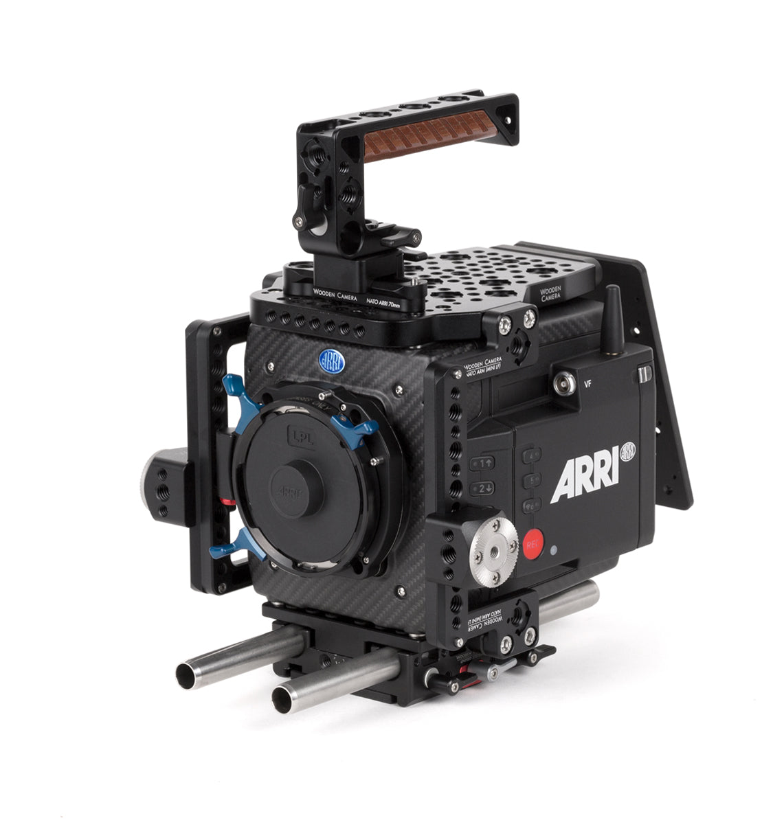 basic arri alexa mini lf camera support package & accessories from wooden camera