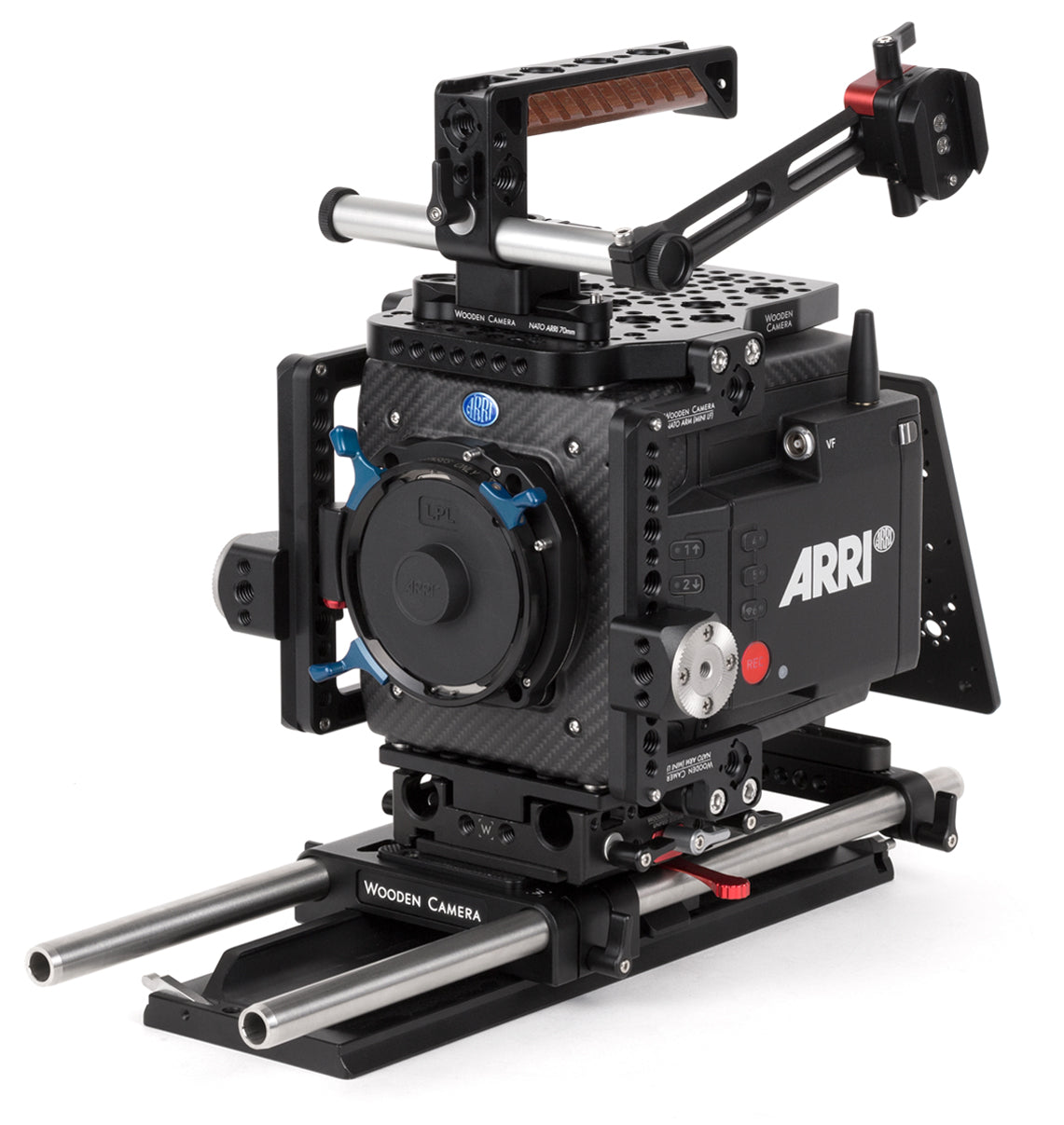 professional 15mm studio arri alexa mini lf camera support kit & accessories from wooden camera