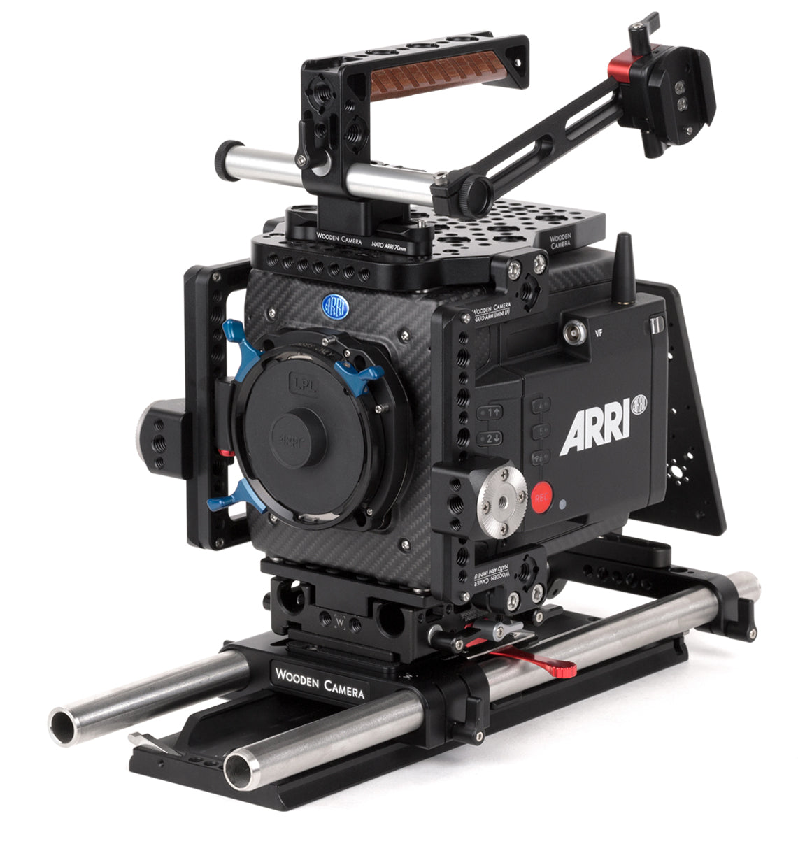 professional 19mm arri alexa mini lf camera support kit & accessories from wooden camera